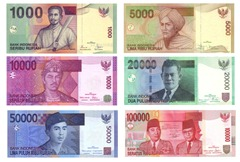 Indonesian Rupiah Money Notes